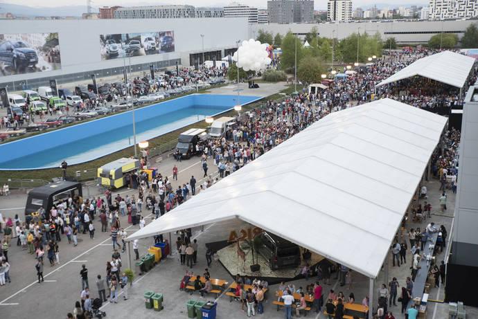 Eventisimo organiza el 'Family Day' de Mercedes Benz Vitoria