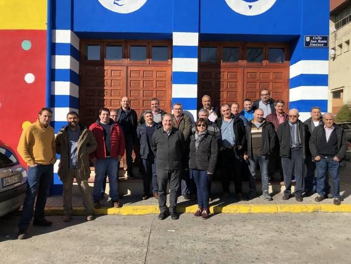 Asetra se reúne con los transportistas de la comarca de Cantalejo
