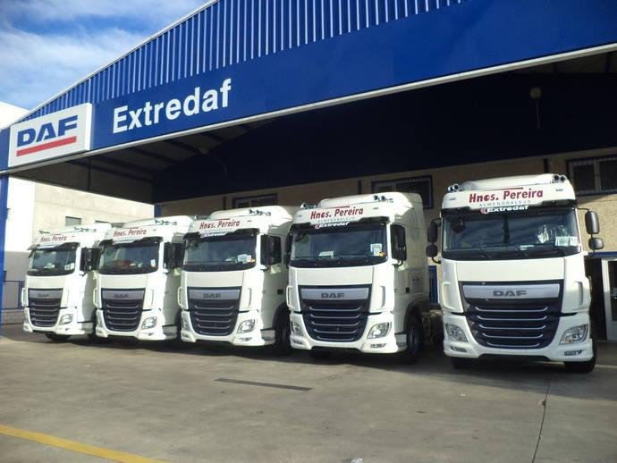 Hermanos Pereira completa su flota con nuevos vehículos DAF