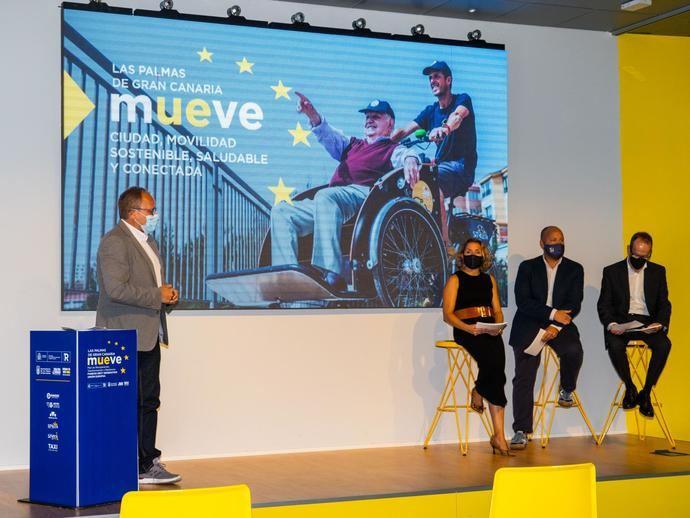 'LPGC Mueve', 21 proyectos para fomentar la movilidad con fondos europeos