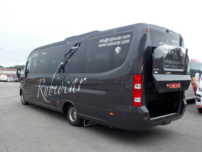 Dos autobuses Sunrise de 32 + C para la empresa Rubiocar