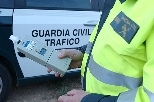 Tráfico realizará más de 25.000 pruebas diarias de alcohol y drogas a conductores