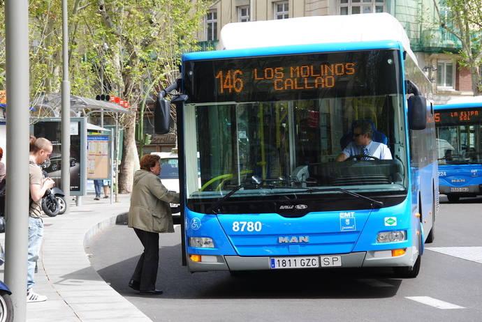 Las subvenciones estatales al transporte público cayeron un 25%