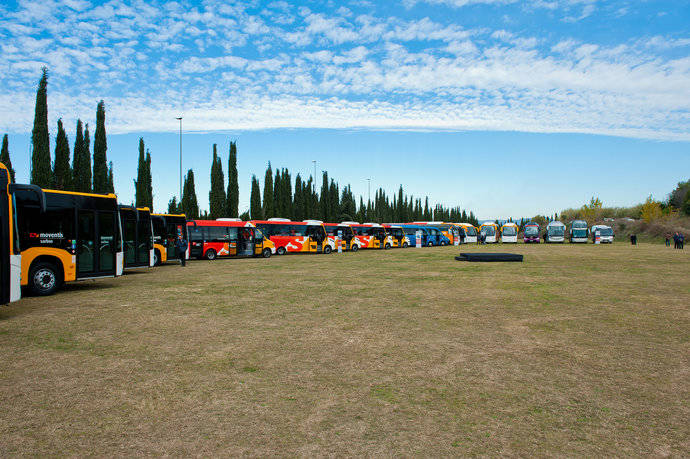Moventis invierte 18 millones de euros en renovar su flota de autobuses