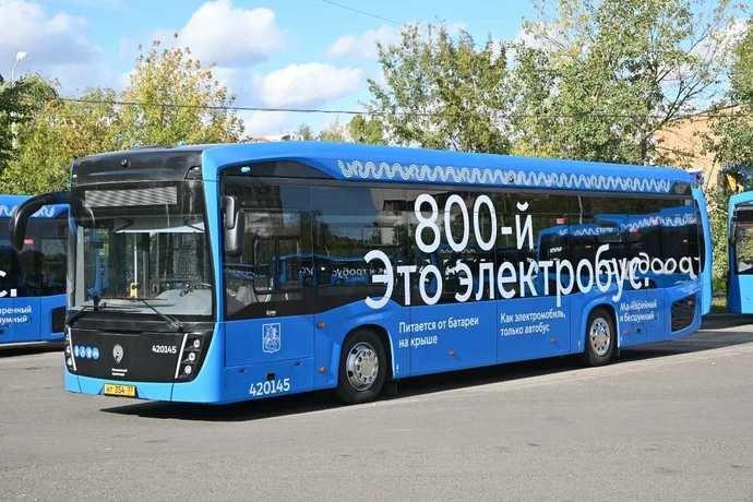 Moscú lanza su eléctrico número 800; 1.000 eléctricos a final del año