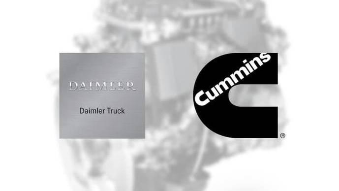 Daimler Truck y Cummins Inc: plan para motores de comerciales