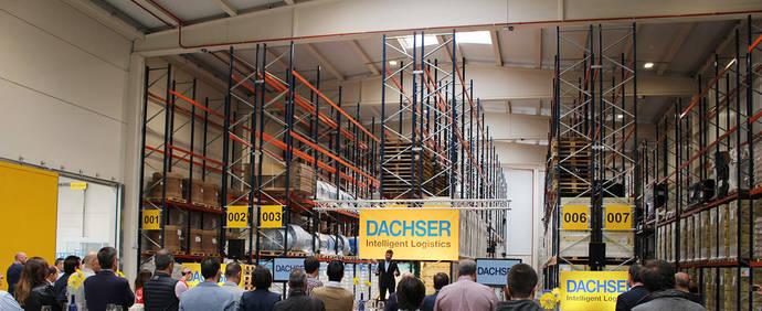 Dachser presenta su centro logístico en la provincia de La Rioja