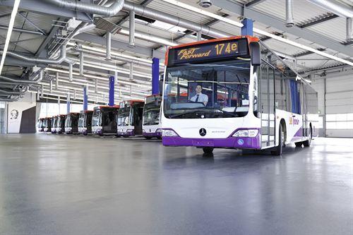 Daimler Buses vendió 28.100 autobuses y chasis de autobús en 2015