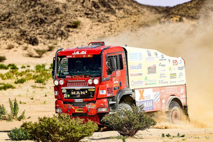 Marrones Jalan logra terminar el Dakar 2021