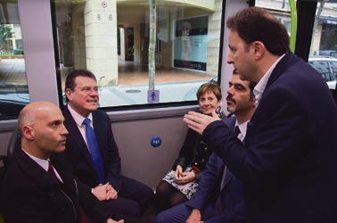 San Sebastian estrena nueva línea eléctrica de autobuses