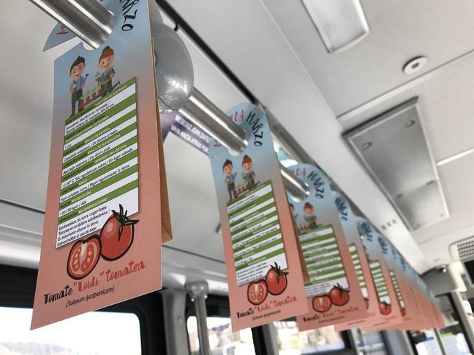 Los autobuses de Dbus llevan a cabo una nueva acción de