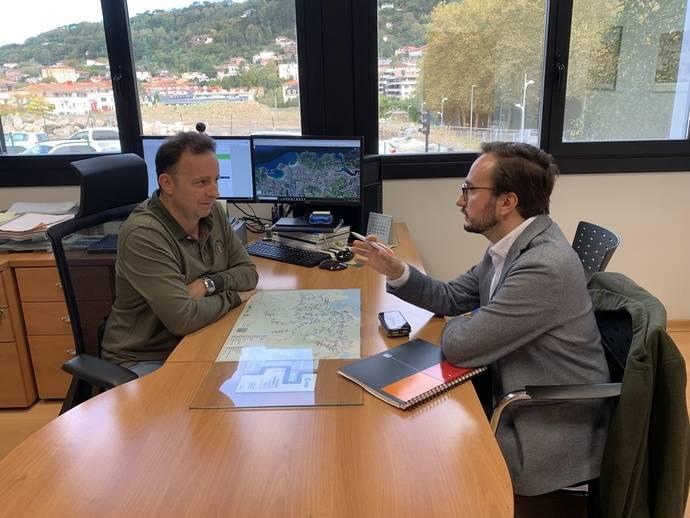Dbus recibe visita de la Eurorregión Nueva Aquitania Euskadi Navarra