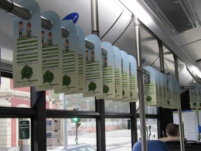 Dbus reparte semillas en los autobuses con una novedosa acción de ''perching''