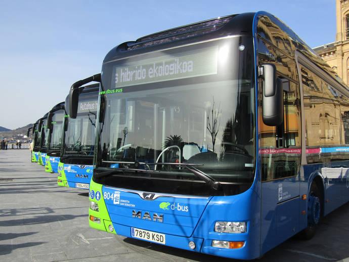 Dbus incorpora a su flota 14 nuevos autobuses híbridos, de la marca MAN