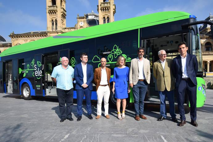 Dbus probará un autobús híbrido eléctrico de 12 metros de Vectia