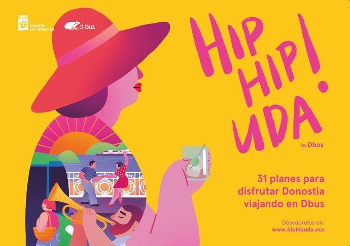 Se estrena la campaña de verano de Dbus: Hip, Hip Uda!