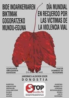 Dbus se ha sumado al Día Mundial en Recuerdo de las Víctimas de la Violencia Vial.