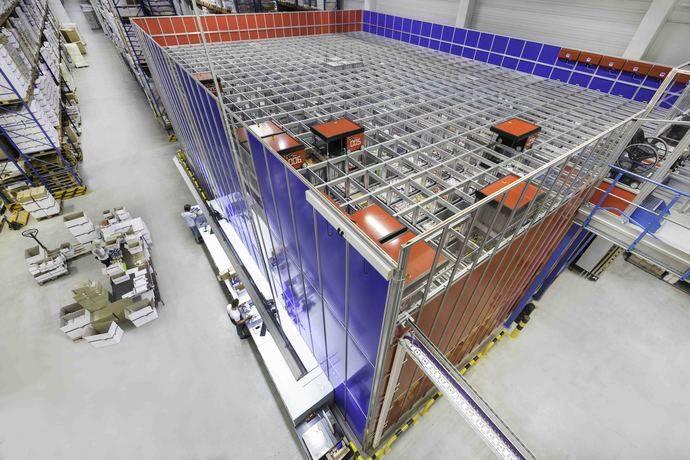 Dematic automatiza el centro logístico de C.E. Pattberg con AutoStore