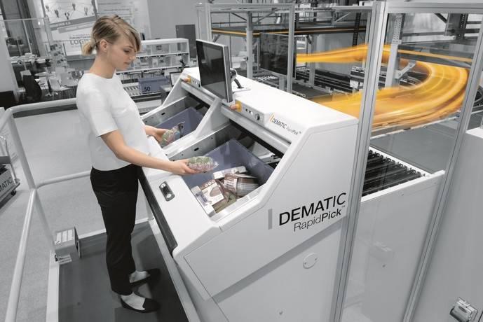Dematic presenta su solución de alto rendimiento para preparar pedidos