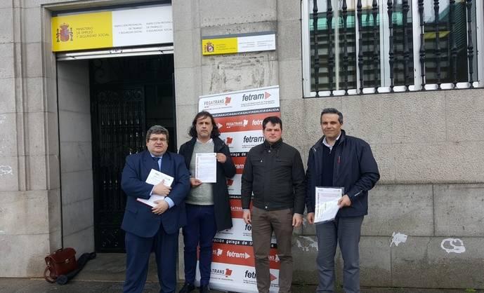 Fetran y Fegatrans denuncian a las agencias de paquetería de Vigo