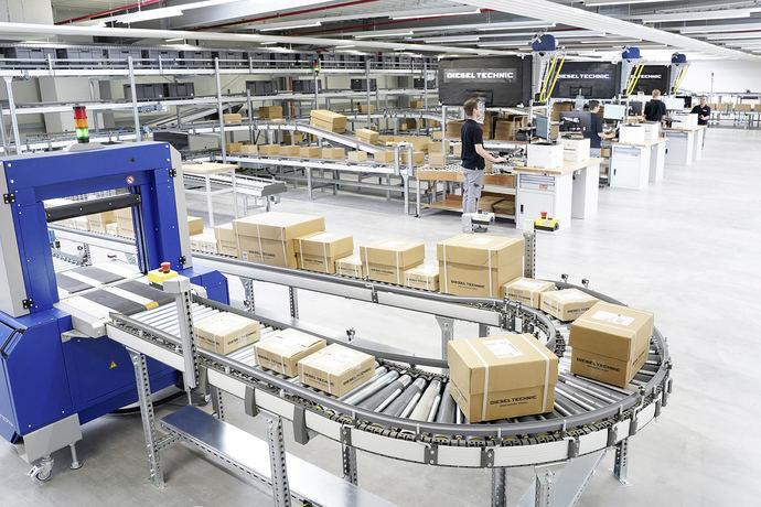 Soluciones logísticas personalizadas para los clientes de Diesel Technic