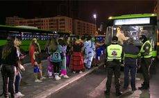 Titsa destaca el éxito del dispositivo especial de Carnaval