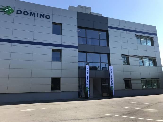 Fachada de la nueva sede de Domino España.