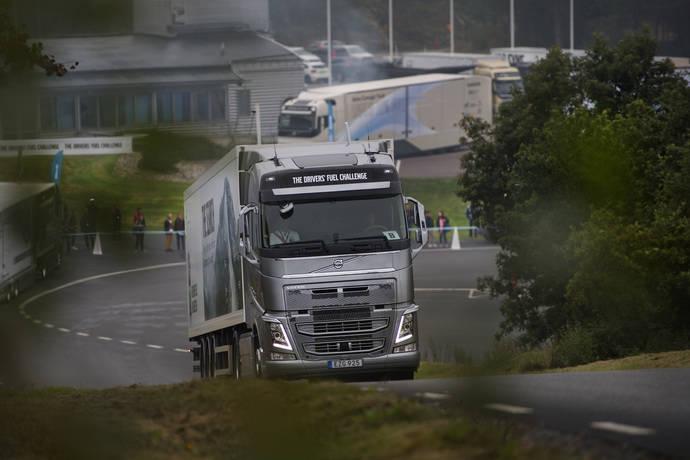 A prueba los conductores en el Drivers' Fuel Challenge de Volvo