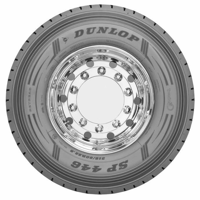 Dunlop y las versiones recauchutadas de los nuevos neumáticos para camión