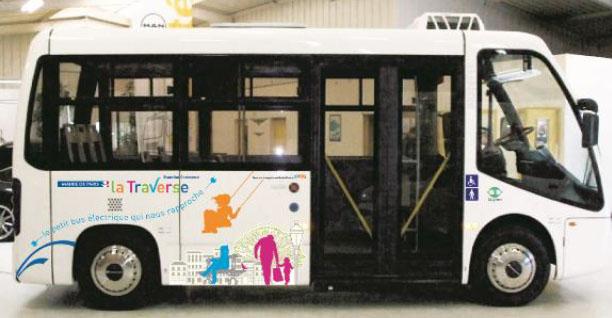 Consorcio para operar un autobús eléctrico en el 15º distrito de París