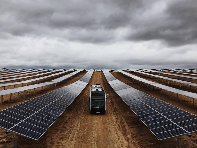 Irizar e-mobility pone en marcha el mayor parque solar del País Vasco