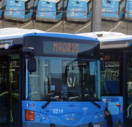 EMT Madrid transportó a 406 millones de usuarios