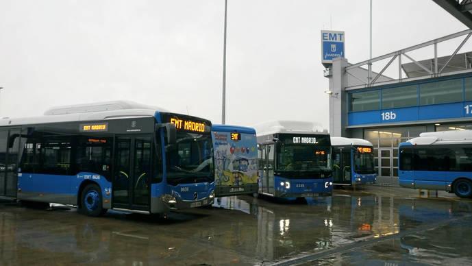 Madrid pone en marcha sus 200 nuevos autobuses urbanos