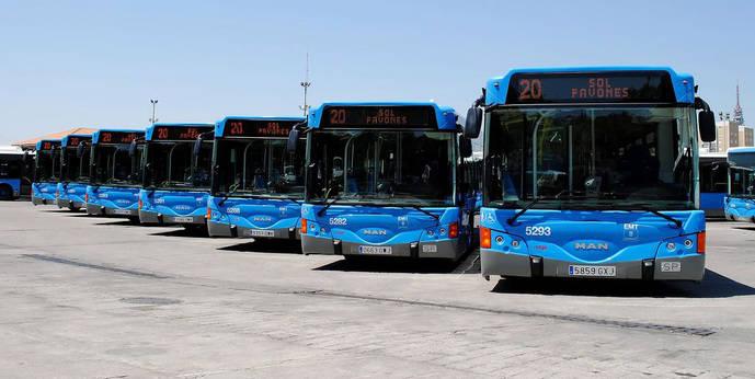 La EMT de Madrid renovará la flota para mejorar la edad media de sus vehículos