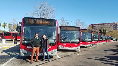 EMT Valencia pone en circulación 22 de sus 39 nuevos autobuses