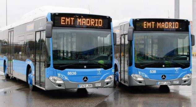 EMT de Madrid refuerza el servicio especial sustitutorio a la línea 4 de metro