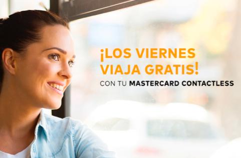 Viajes gratis en la EMT de Madrid con Mastercard