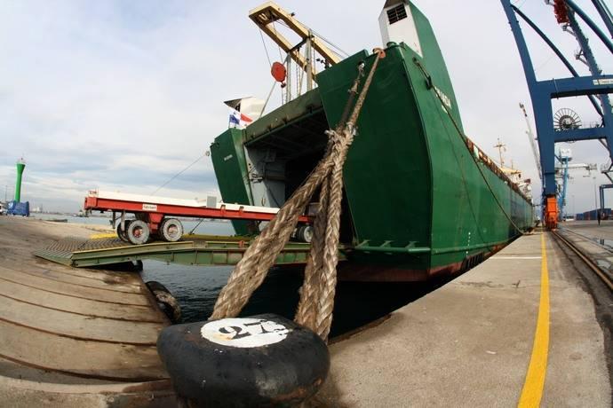 El puerto de Castellón triplica el tráfico Ro-Ro en Febrero
