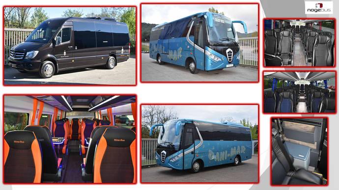 Nogebus suministra un vehículo a Rima-Bus y dos a Dani-Mar