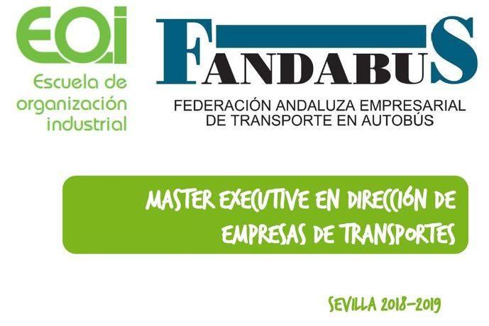 EOI y Fandabus presentan el I Máster DET