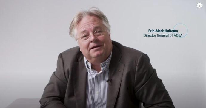 Nueva visión y búsqueda de la asociación de la industria automotriz, ACEA
