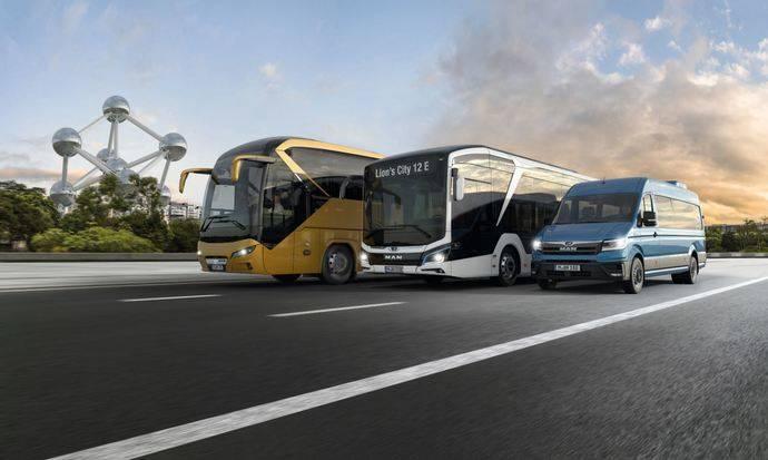 MAN en Busworld 2019, los autobuses de hoy para la movilidad futura