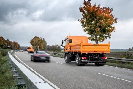 Vehículo de protección sin conductor para autopistas
