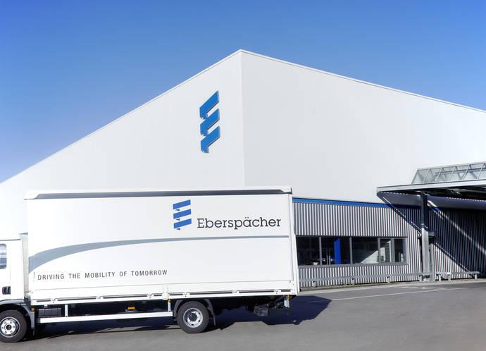 Fábrica de Eberspaecher en Esslingen (Alemania).