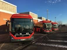 Volvo entrega veintiún autobuses híbridos al Grupo Avanza
