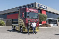Enrique Ortega incorpora un Scania 730 CV a su flota