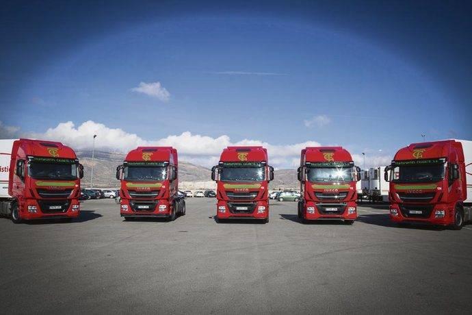 IVECO entrega el primer pedido de Stralis TCO2 Champion a Transportes Caudete