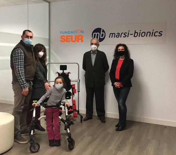 Fundación Seur financia la rehabilitación a una niña de Guadalajara