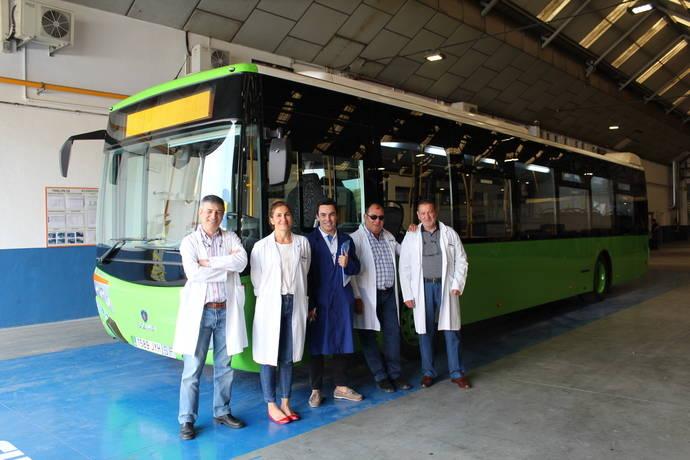 Grupo Castrosua entrega una nueva unidad a Bravo Palacios