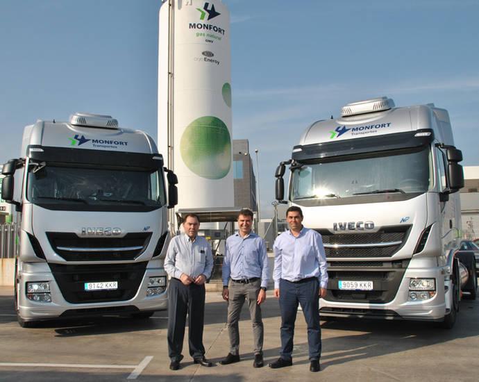 Transportes Monfort adquiere dos IVECO Stralis NP 460 de gas natural